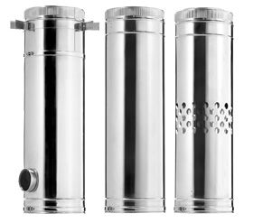 Collective Modular Chimney Pipe for Double or Triple Wall