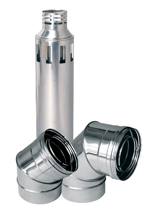 Chimney pipe for Double Wall Concentric